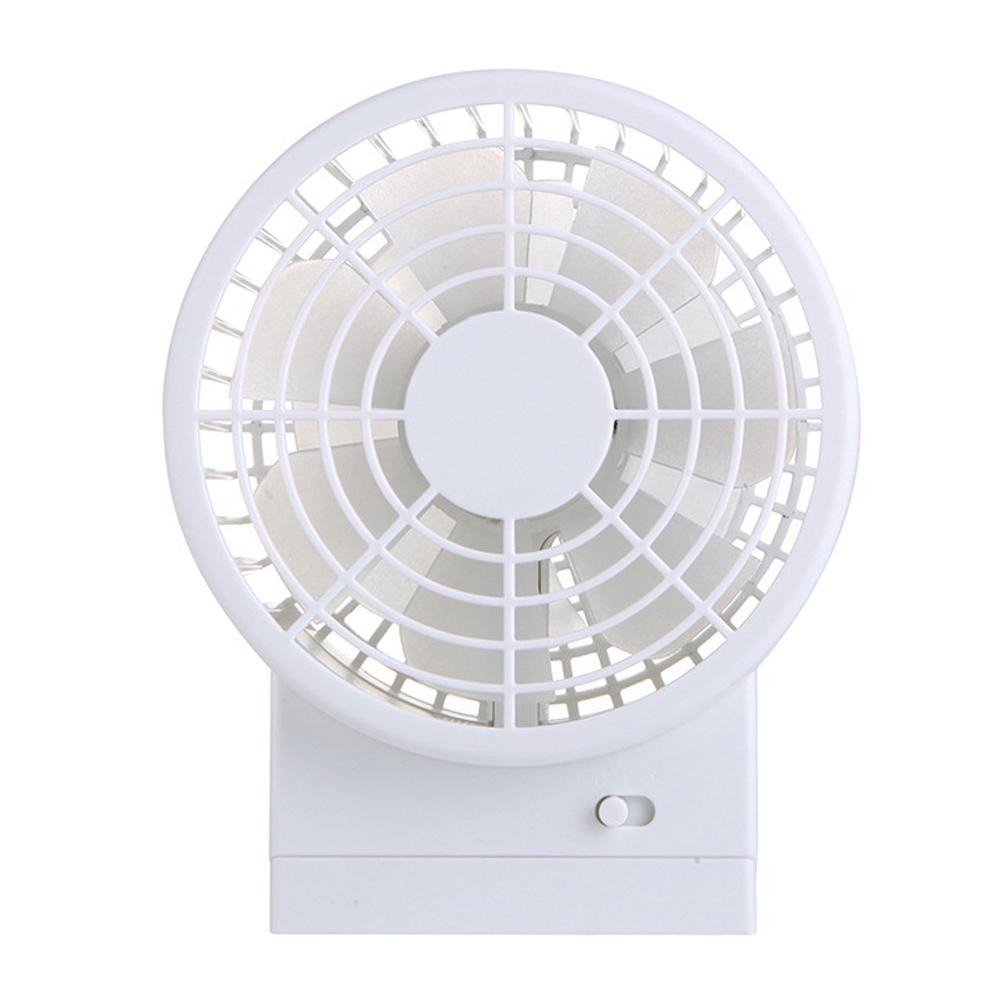 Color : Pink Outdoor Travel Home Mini Fan Air Circulator Desktop Student Dormitory Office Desktop Mute Lighted Small Fan Ultra-Quiet USB Fan Rechargeable Moving Head Mini USB Fan