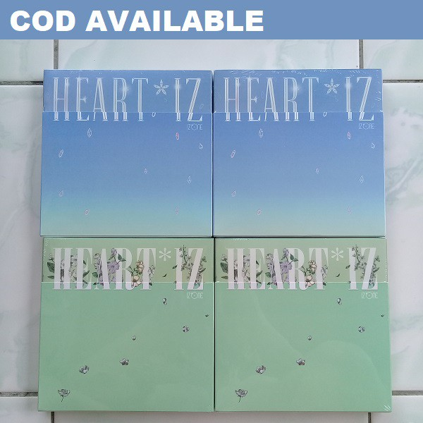 (ONHAND) [W/ POSTER] OFFICIAL IZ*ONE (IZONE) - HEART*IZ 2ND MINI ALBUM