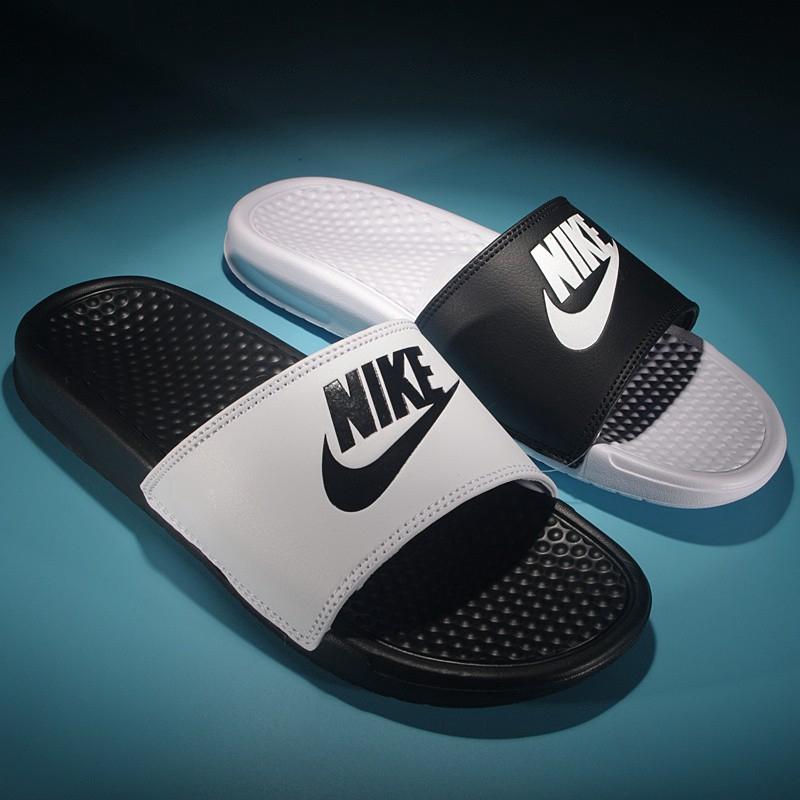 more photos 7e23c da8ed Original Nike Benassi Swoosh unisex slippers sandals 5