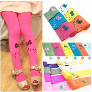 37fb701ee HelloKitty-Kids-Girls-stretch-Leggings-Cotton-Pants-Socks