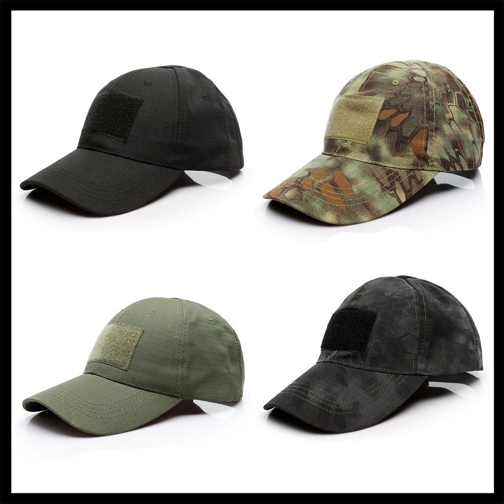 Fastener Baseball Glof Cap Breathable Net Solid Changable Unisex Outdoor Hat Camouflage Tactical Equipment Golf