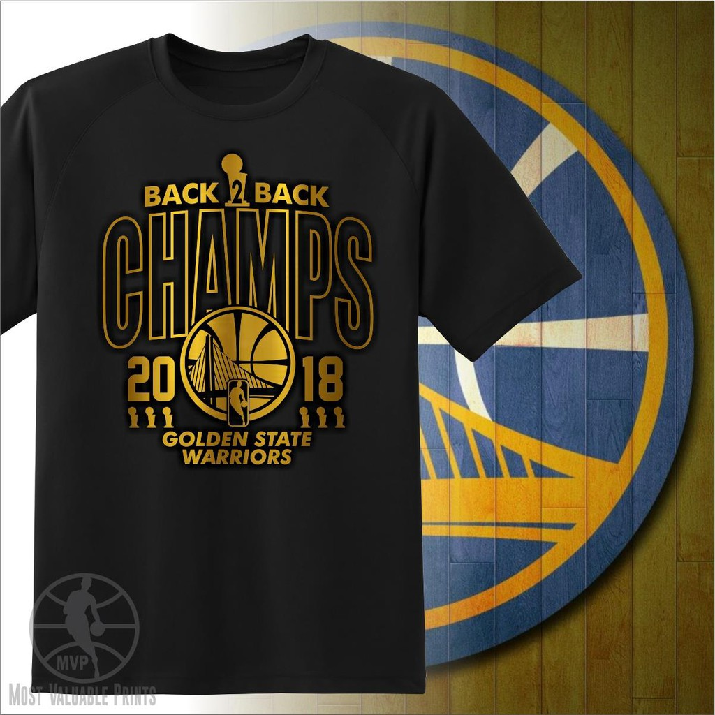 d80accb6269 NBA GSW Golden State Warriors 2018 Championship Shirt Gold