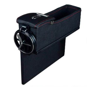 Car Organizer Universal Vehicle Dashboard Pocket Holder Hypersonic Plastic Black Cargo Storage Box Holds Phone Money Cards Keys Glasses Remote