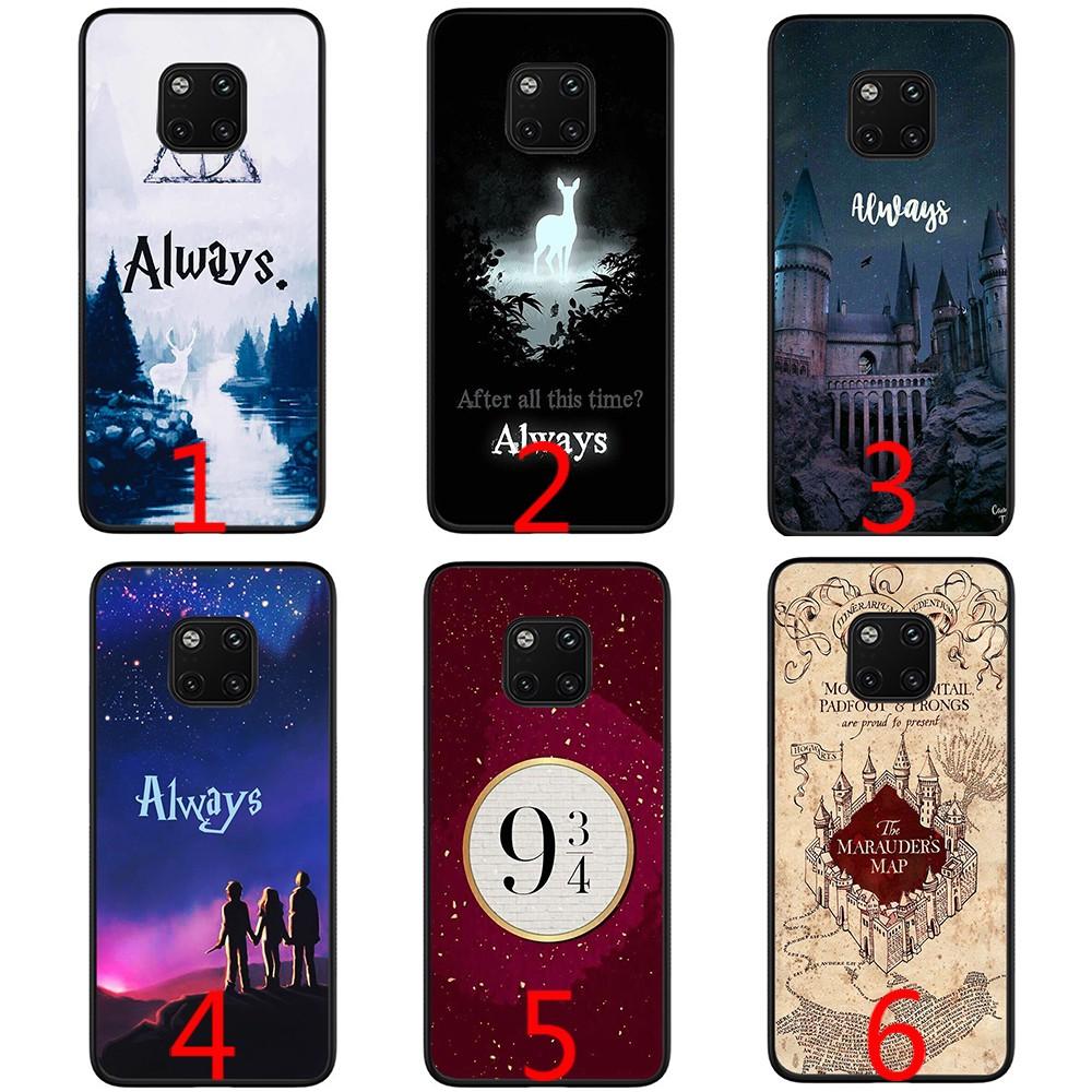 Harry Potter always Soft phone case for Huawei Mate 10 20 Pro Lite Nova 3 3i