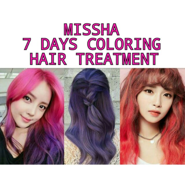 Missha 7 Days Hair Coloring Hair Treatment