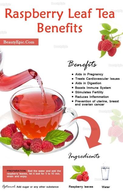Pure Red Raspberry Tea Leaf - Women's Health Tea