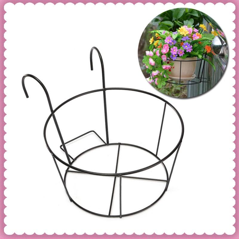 Flower Pot Hanging Balcony Garden Decor