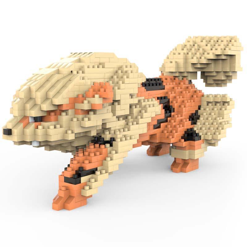 CKR6607 Pocket Monster Blastoise Mini Building Diamond Nano