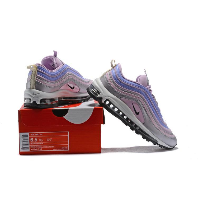 4135ff0c16 Mens/Womens Nike Air Max 97 Shockproof Shoes Black/White 921826-001 |  Shopee Philippines