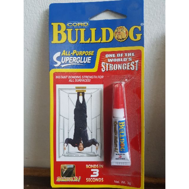 BULLDOG - All Purpose Super Glue
