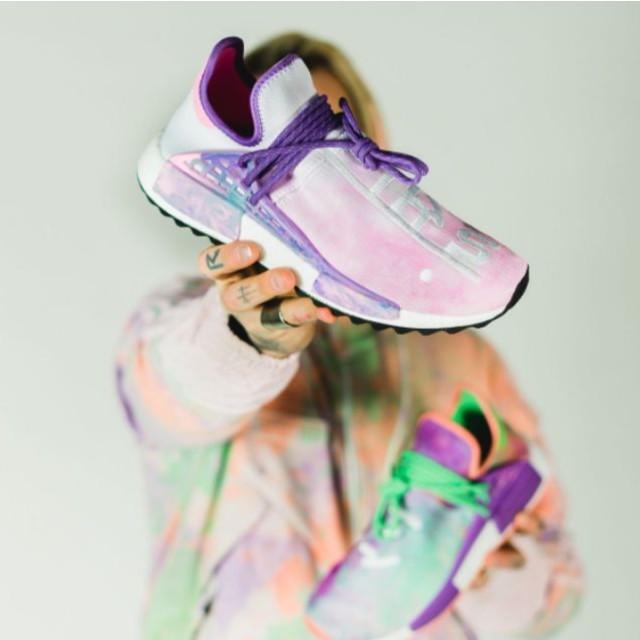 Pharrell Williams x Adidas NMD Hu Human Race Trail Holi Pack Shoes