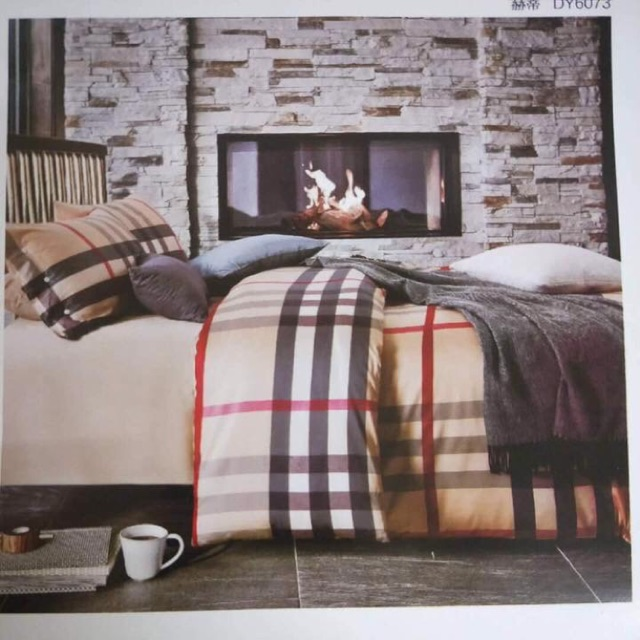 Burberry Bed Set Shopee Philippines
