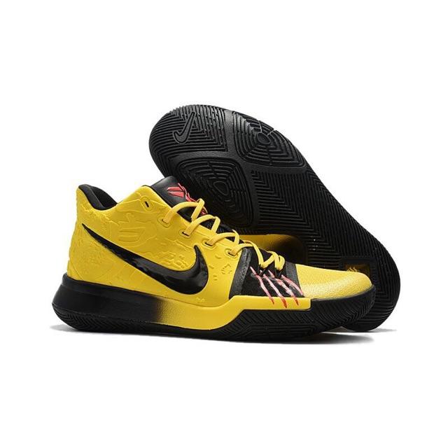 "Nike Kyrie 4 ""Bruce Lee"" Yellow Black(OEM - Premium Quality ... 48a4285b6"