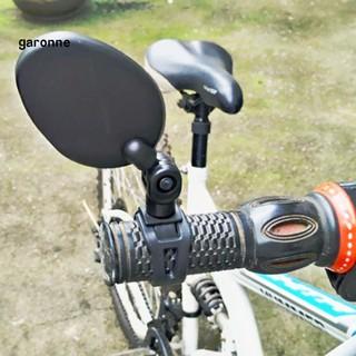 MTB Cycling Handlebar Rearview Glass Mirror 360 degree Rotate Back View Mirror
