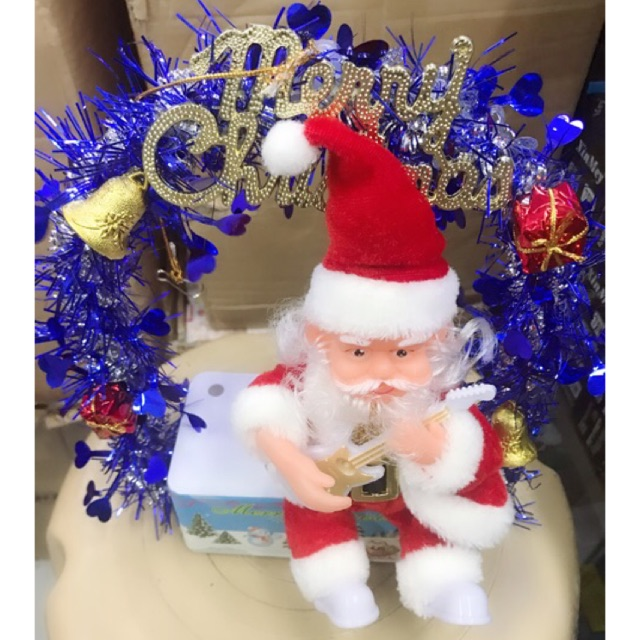 Christmas Dancing Santa.Christmas Decor Musical Christmas Dancing Santa Claus