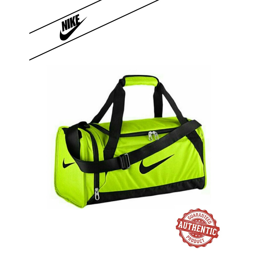 Colonos Mal Triatleta  NIKE Brasilia 6 Duffel Training Weekender AUTHENTIC Bag Green | Shopee  Philippines