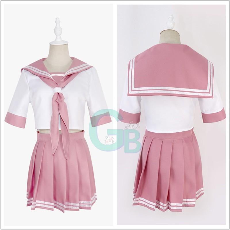 Anime Fate Apocrypha Astolfo Cosplay Costume JK Uniform Sailor Suit Full Set Hot