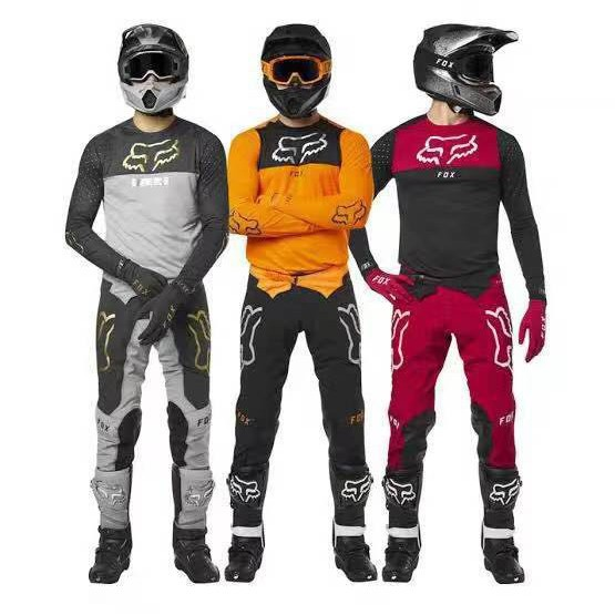XL//34 Fox Racing Airline Jersey and Pants Set