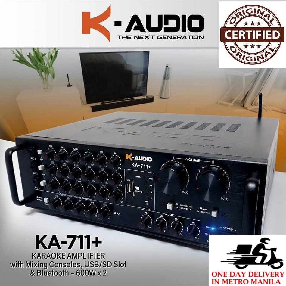 Konzert K Audio KA-711+ Digital Mixing Amplifier