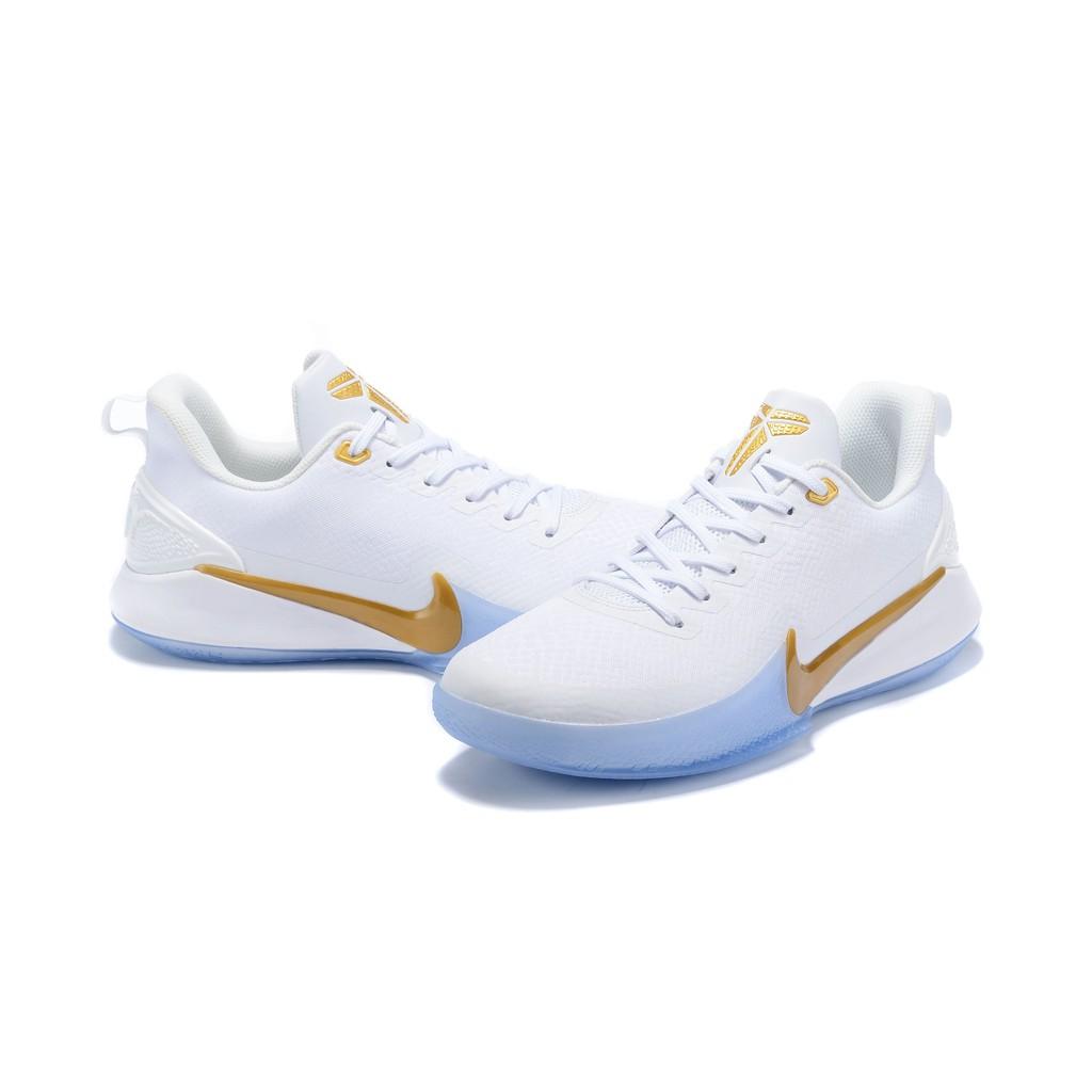 Dime Paloma Lima  Nike Mamba Focus EP Kobe Bryant Basketball Shoes Original White ...