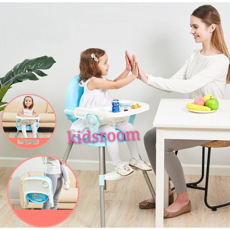3-in-1 dining chair for children