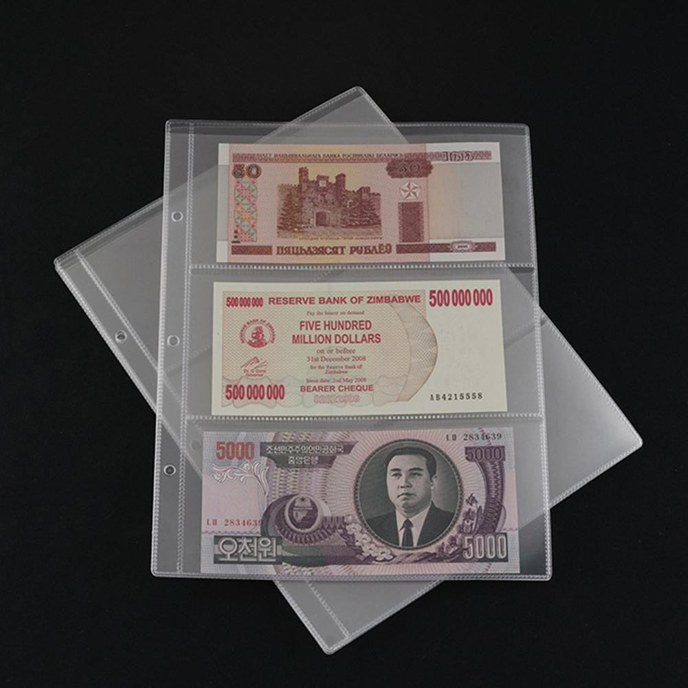 Paper Money Banknotes With Box Money Transparent Paper Money Coin Album Coin SA