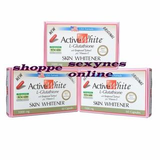 Active White L-Glutathione Capsule 1000mg | Shopee Philippines