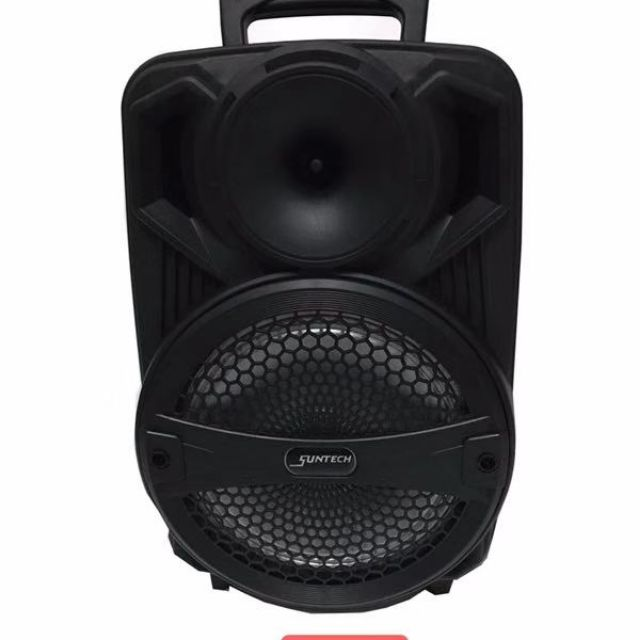 Rechargeable portable bluetooth speaker free mic