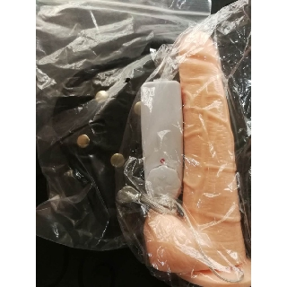 Strap On Penis 5.5/ 6.5/ 7.5 inches Vibrator Dildo with