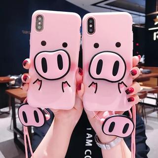 Huawei Nova 3i 3 Y9 2019 Y6 2018 P10 P20 Pro Cute Pig Case