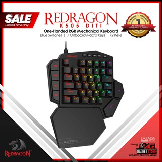 Redragon K585 DITI One-Handed RGB Mechanical Gaming Keyboard