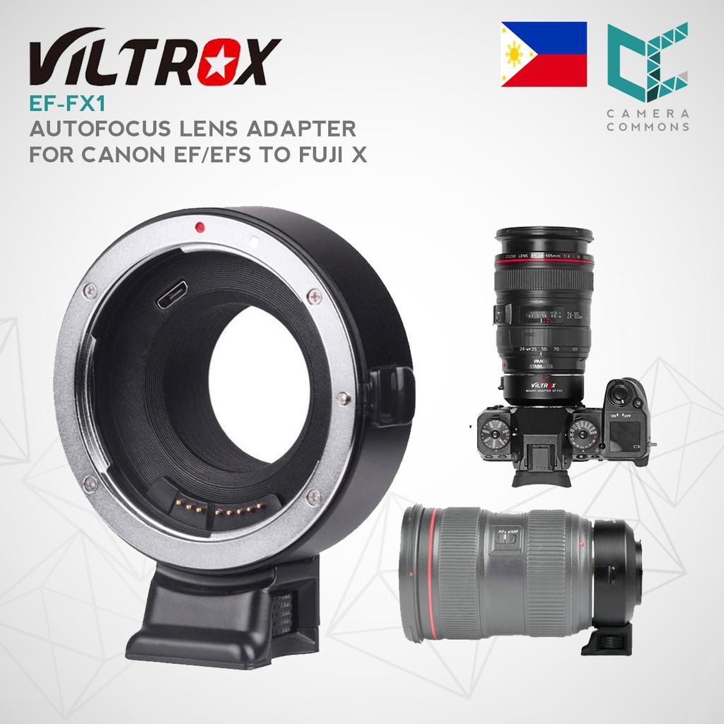 VILTROX EF-FX1 Auto Focus Mount Adapter Built-in Electronic Aperture