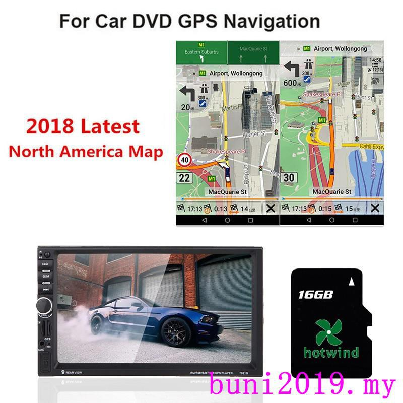 2019 Car GPS SD Card 16Gb For Wince Navigation Latest Europe