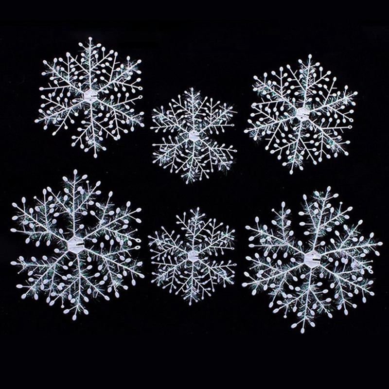 Snowflake Snow Christmas Star Star Window decorations Christmas decorations hanging Shape Table Christmas or Christmas Decorations 18cm//27cm//36cm 3 size, each size 2pcs.