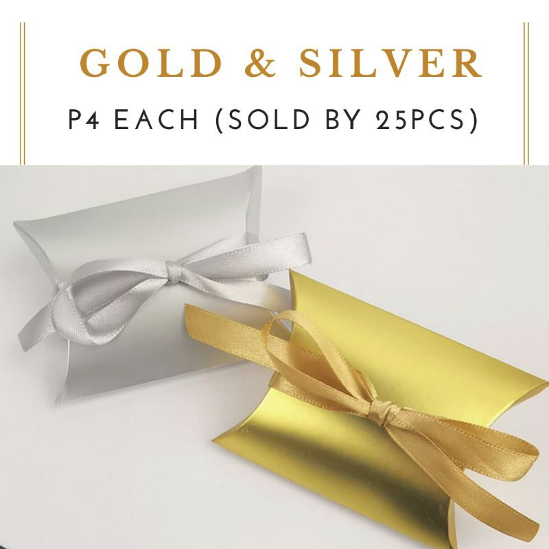 Pack of 2 Wedding Favor Supplies Candy Bar Scoops Silver or Gold