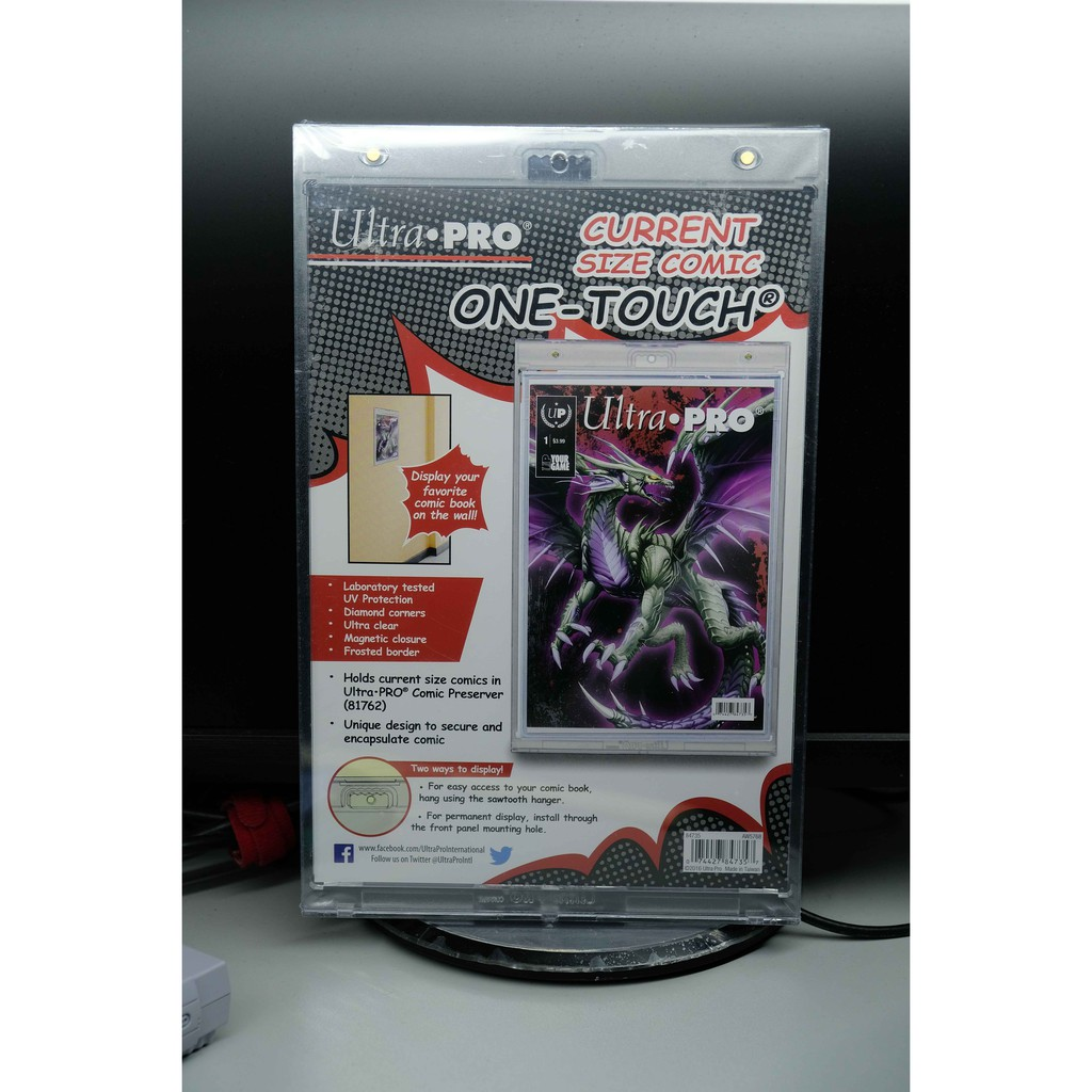 Ultra Pro Comic Book Display Holder Clear