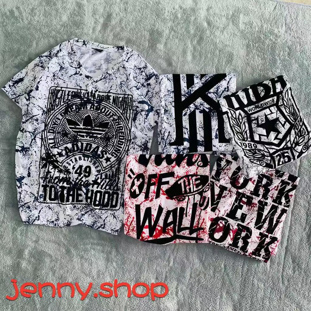 (5 design) kyrie Vneck T-shirt unisex free size