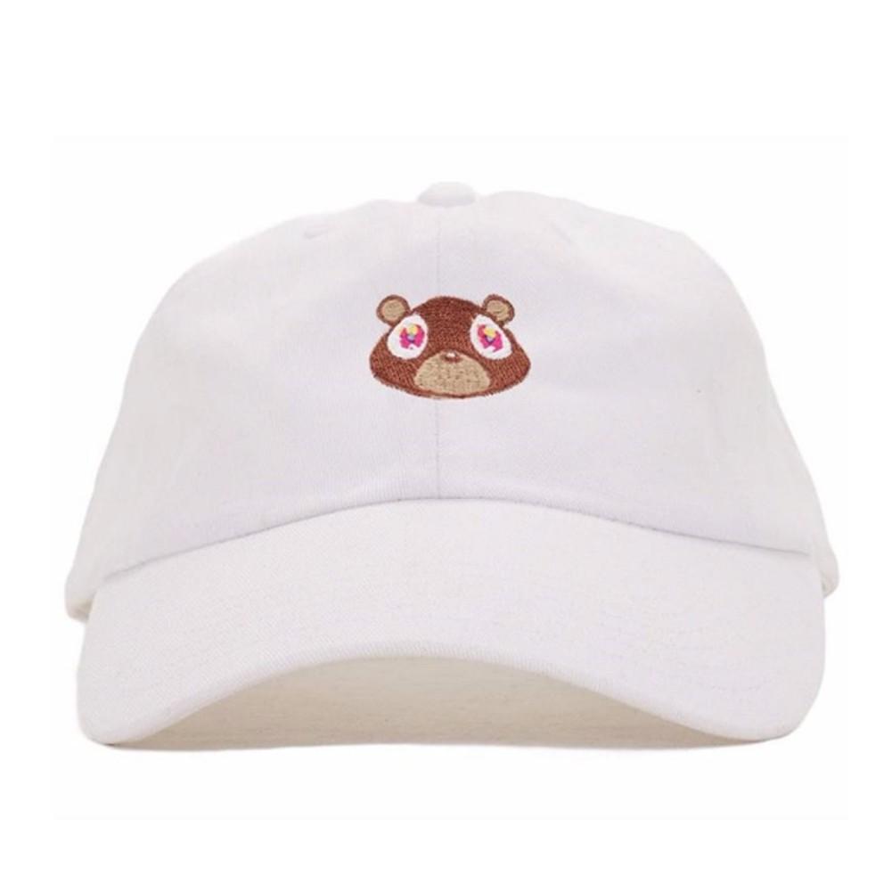 8877c79fdc1 Cute Kanye West Ye Bear Dad Hat Lovely Baseball Cap