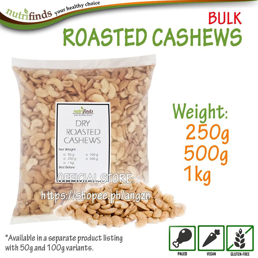Roasted Cashews - BULK