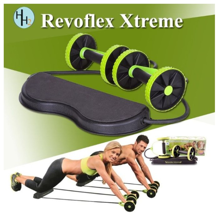 Revoflex Xtreme Body Fitness Gym Abs Exercise | Shopee Philippines