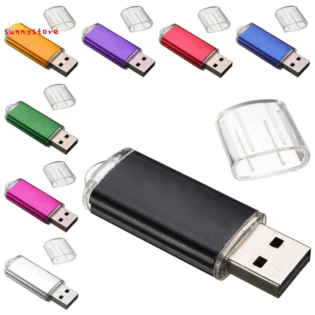 10 Pcs 16GB Black USB 2.0 Flash Drives Swivel Anti-skid Memory Stick Thumb Pen