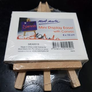 COD Mont Marte Mini Easel with 8x10cm Canvas