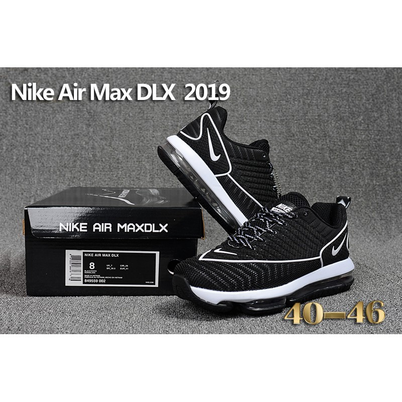 Various Styles Nike Air Max DLX 2019 White Brown 849559 008 Women's Men's Running Shoes Sneakers