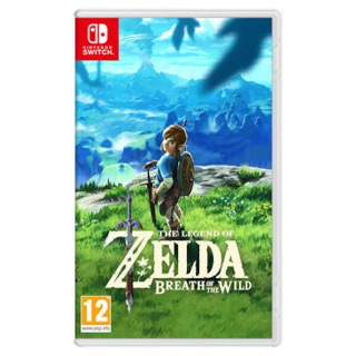 Zelda Breath of the Wild Nintendo Switch Game