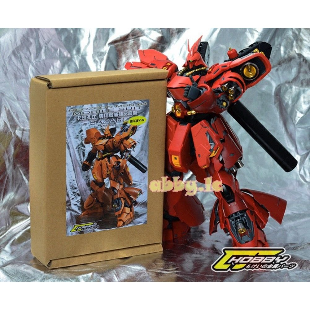 Gundam Metal Parts For Mg Sinanju Verka Shopee Philippines Rx78 2 114215