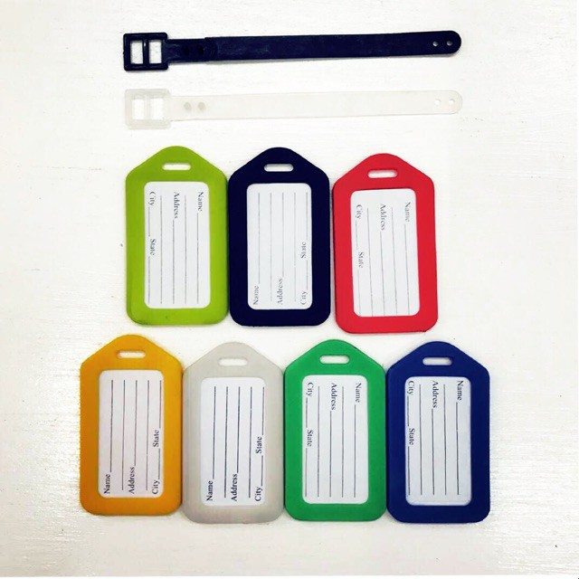 Pvc Plastic Luggage Tag Travel