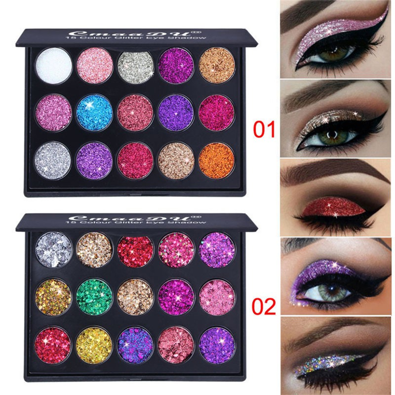 Eye Shadow Devoted Focallure Eyeshadow Glitter Shimmer Sparkle Eye Shadows Long Lasting Sparkly Eyeshadows Pallete Cosmetics Makeup Eyes Cosmetic At Any Cost Beauty & Health
