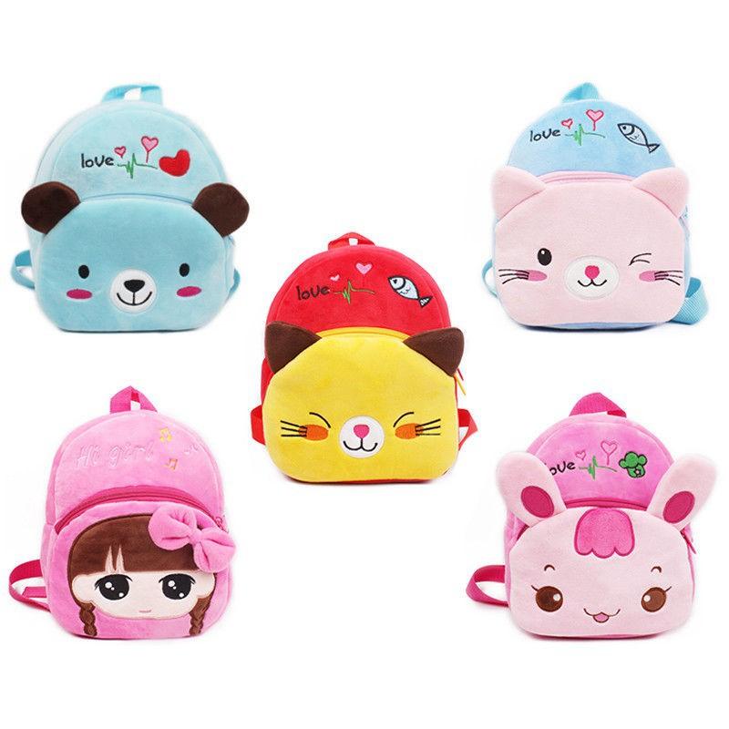 067584cf7f7 Toddler Kids Children Boys Girl Cartoon Backpack Schoolbag Shoulder Bag  Rucksack HB