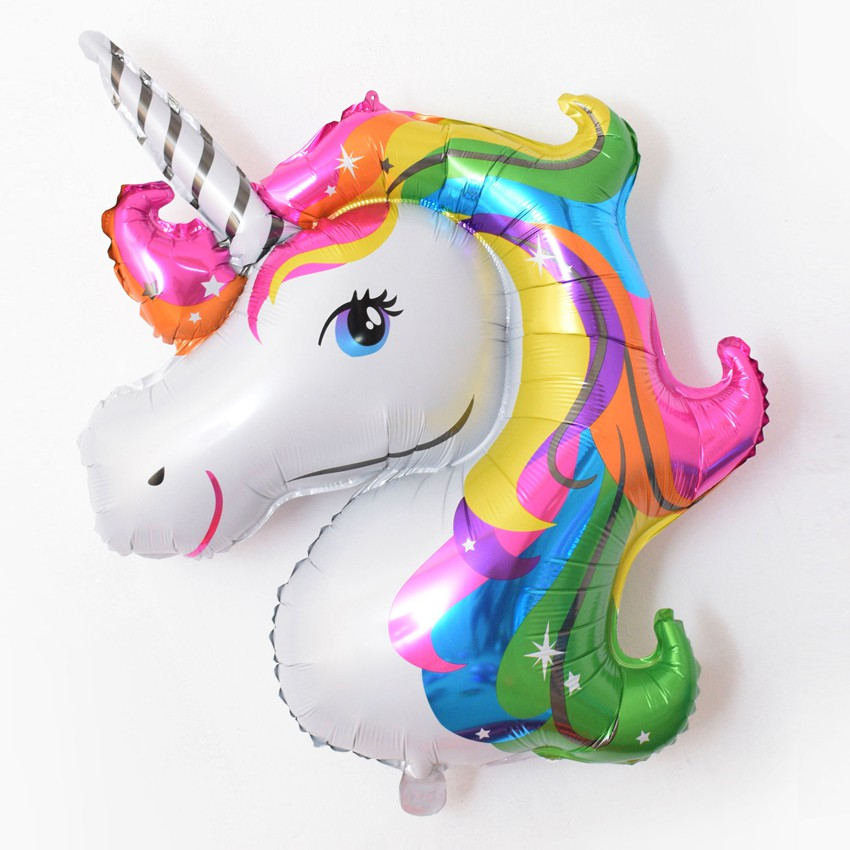 Unicorn Balloons Inflatable Aluminium Foil Great Birthday Party Festival Decor