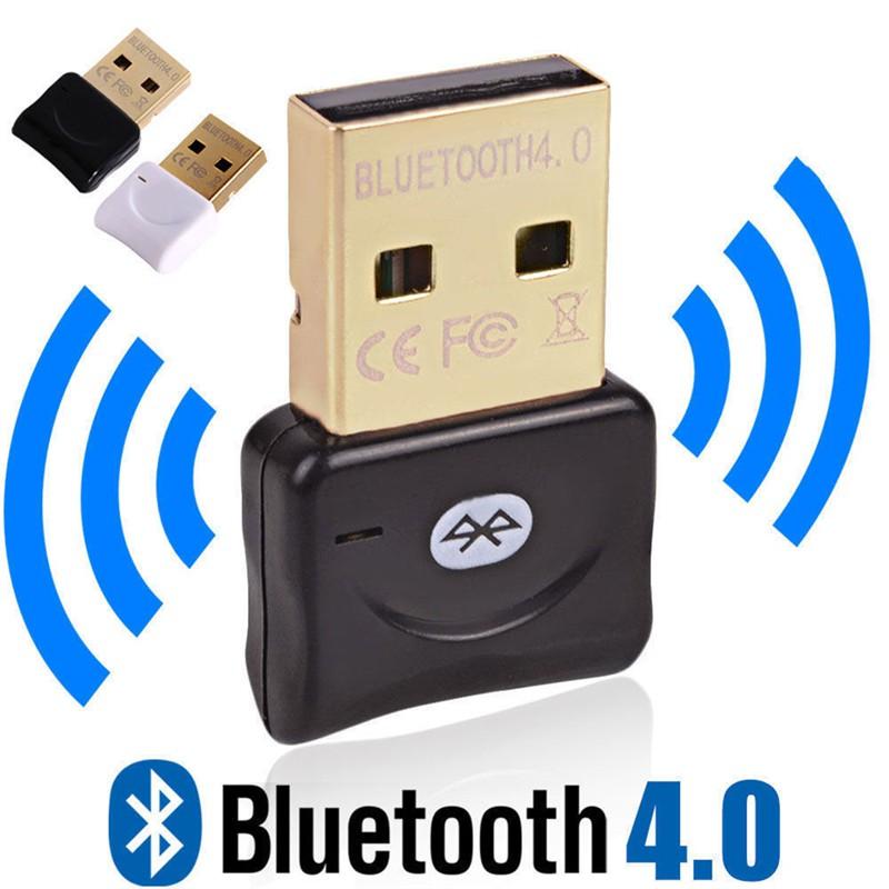 Wireless Dongle CSR4.0 Mini USB2.0 Bluetooth Adapter for Win XP//7//8 Laptop PC